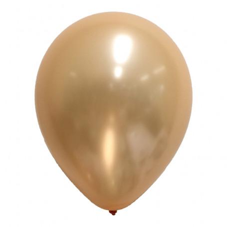 Ballong pärlemor peach