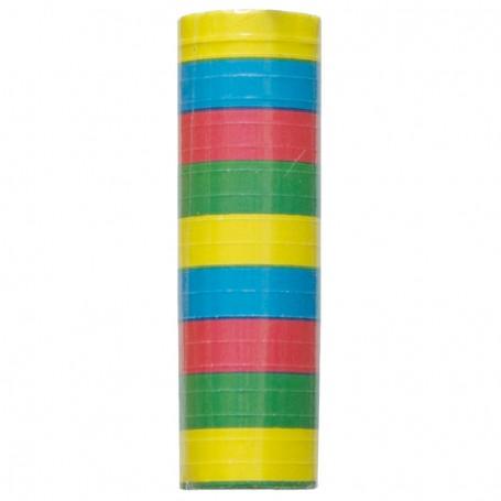 Pappersserpentin flerfärgad 1-p
