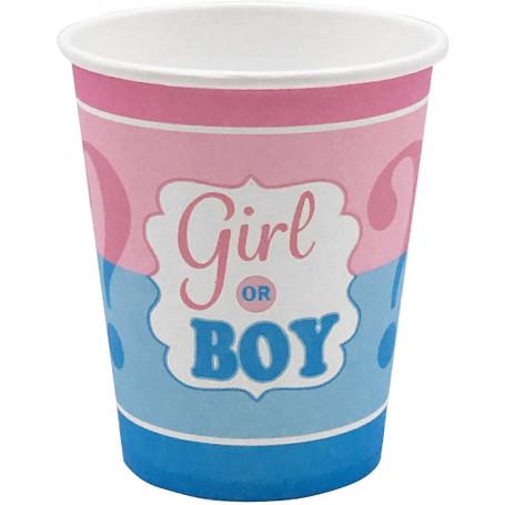 Boy or Girl? Babyshower muggar 8P