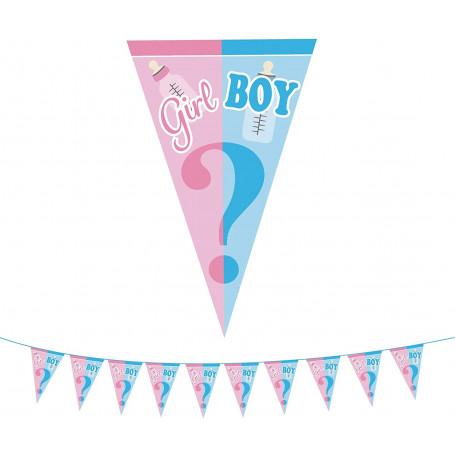 Girl or boy? Babyshower girlang 1M