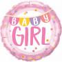 Baby girl folieballong
