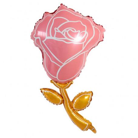 Rose ros ballong