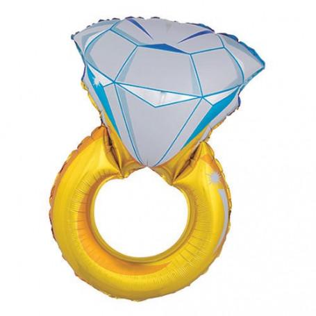 Diamantring folieballong