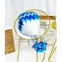 4D varmluftsballong ballong blå XL