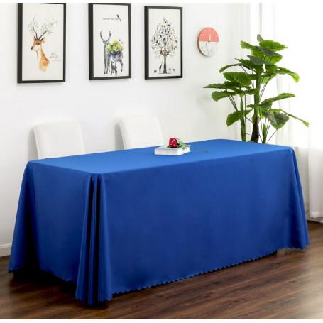 Bordsduk blå återanvändbar