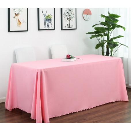 Bordsduk rosa återanvändbar