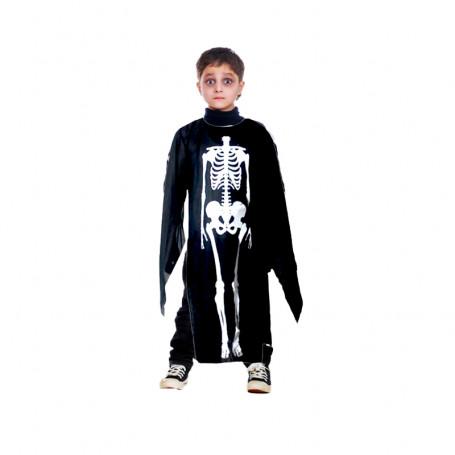 Skelettdräkt barn 90cm
