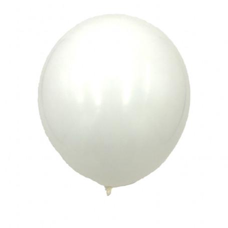 Vita ballonger enfärgade latex ballonger bröllop  student