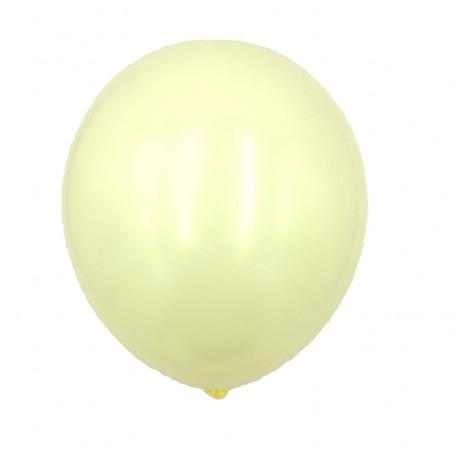 Ljusgula ballonger latex ballong enfärgade student studentfest