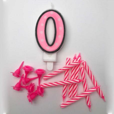Sifferljus Rosa Nr 0
