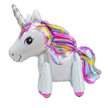 Folieballong med en enhörning (unicorn)