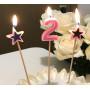 Dekorationsljus till tårtan