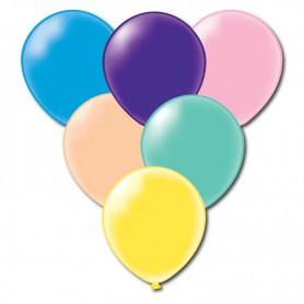 Ballonger runda blandade färger 20-p