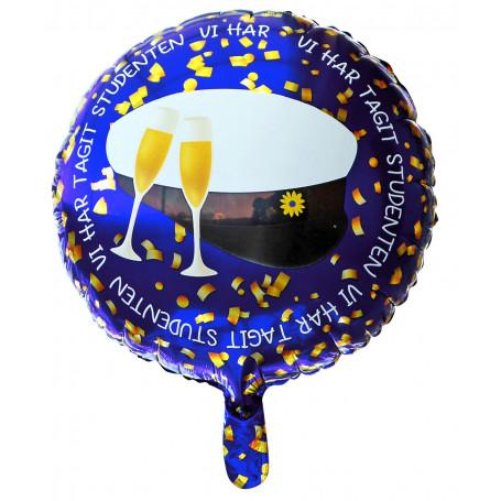 Folieballong till studentexamen
