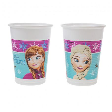 Kalasmuggar i papper med Elsa och Anna från filmerna Frozen (Frost).