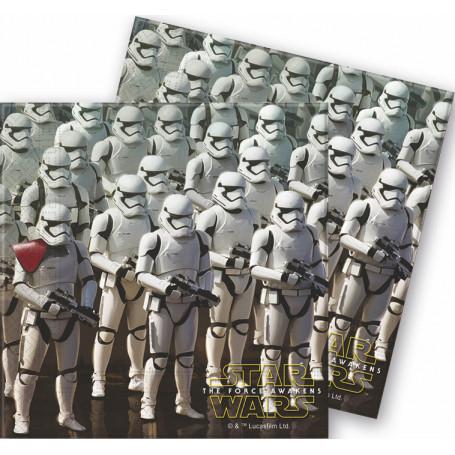 Pappersservetter med Stormtroopers på.