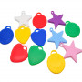 Ballongvikter i flera färger plast latex ballongvikter folieballonger