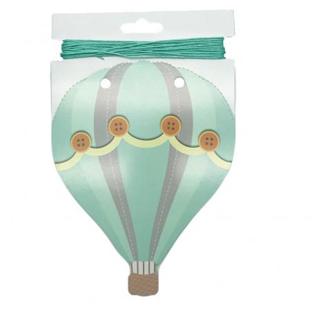 Ballongformad girlang 4M