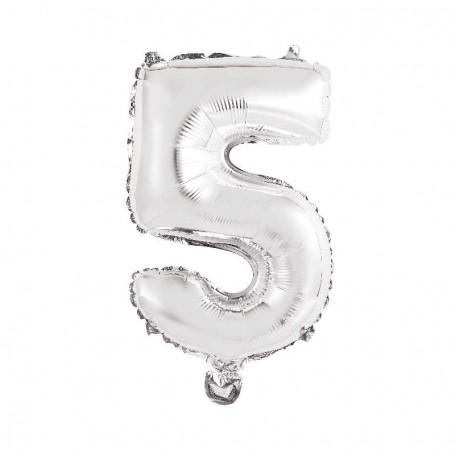 Sifferballong nr. 5, 35 cm