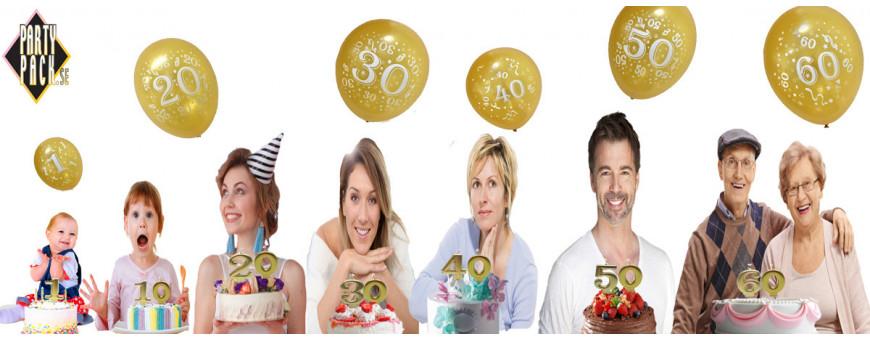 50 års fest | Dekorationer och Dukning | Partypack.se