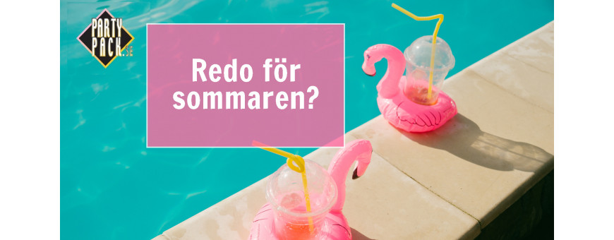 Sommarfest, Picknick, Poolparty - vi har produkterna! | Partypack.se
