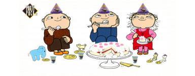 Födelsedagskalas med Alfons Åberg - Partypack
