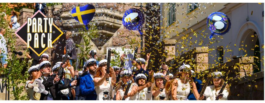 Dekoration till studentmottagning eller studentfest - Partypack.se