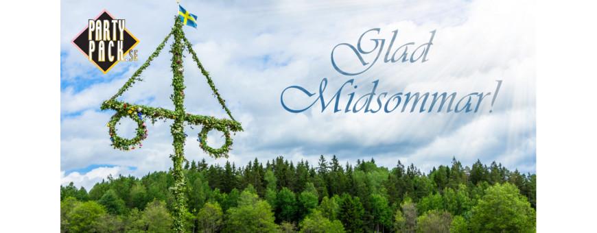 Dekorationer till Midsommarfest - Partypack.se