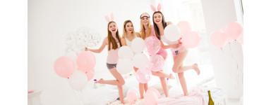 Kalas- och festdekoration i rosa - Partypack.se